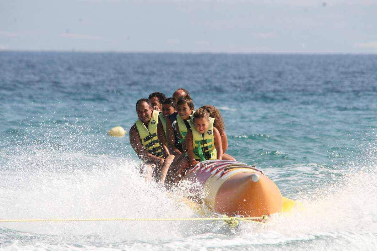 Experiencias para Regalar: Banana boat Barcelona