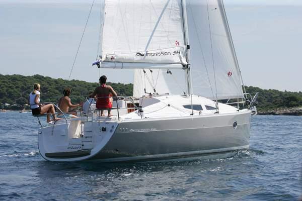 Lloguer de Vaixells: Elan 344 Impression