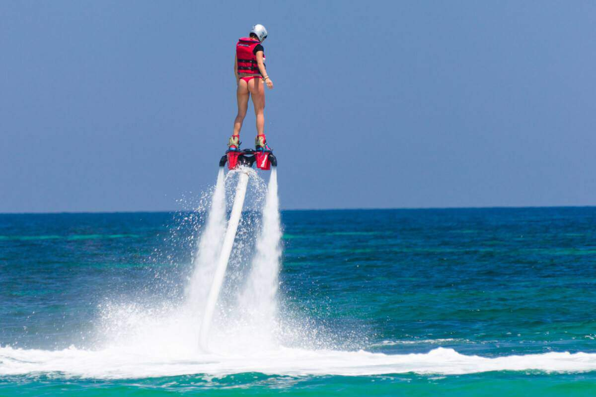 Gift Experiences: Flyboard in Barcelona