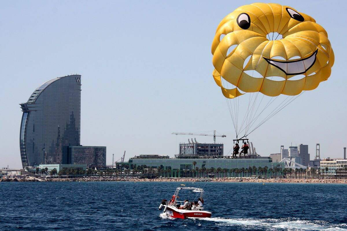 Gift Experiences: Parasailing Barcelona
