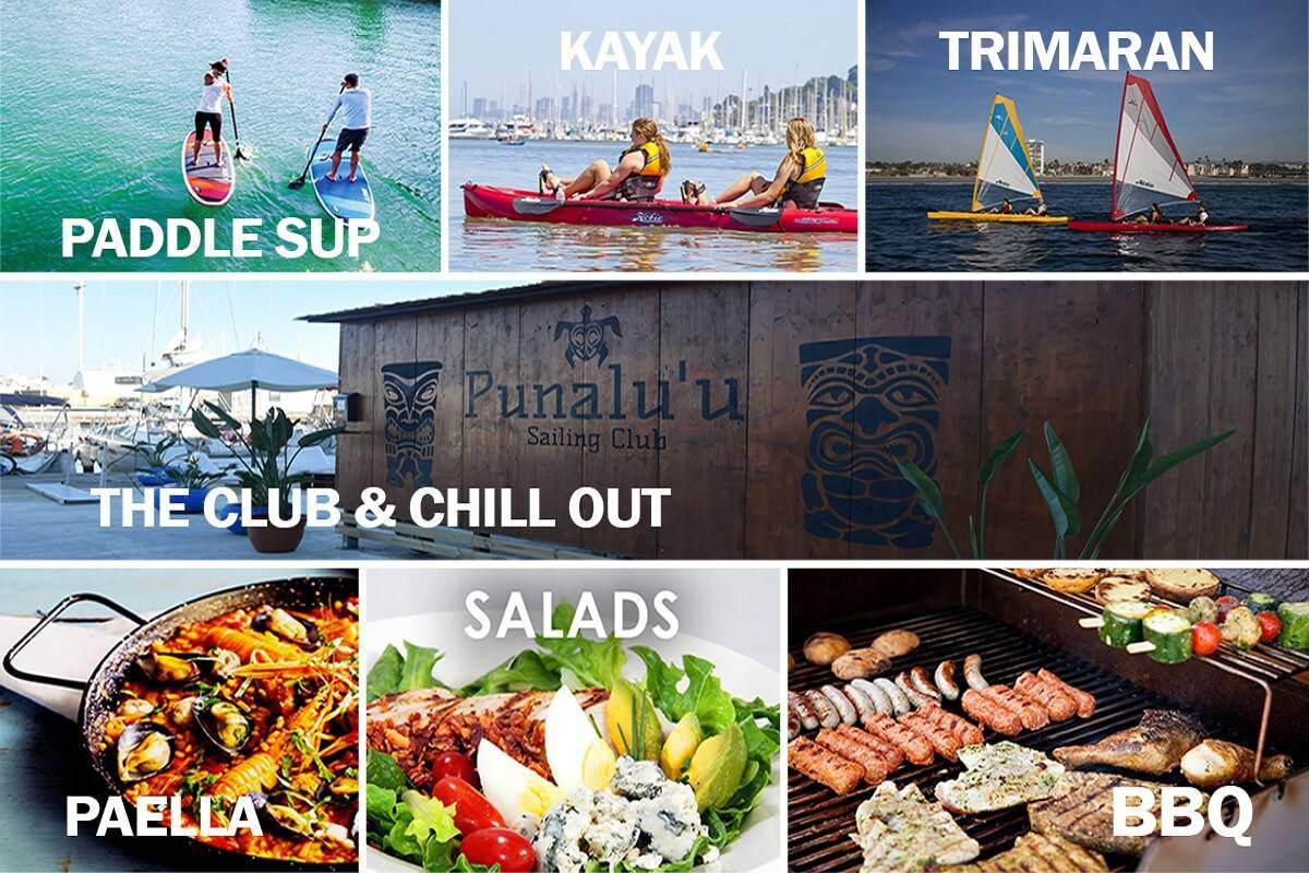 Experiències per a Regalar: Kayak, Paddle & Trimaran Multi activity HCB Sailing Club