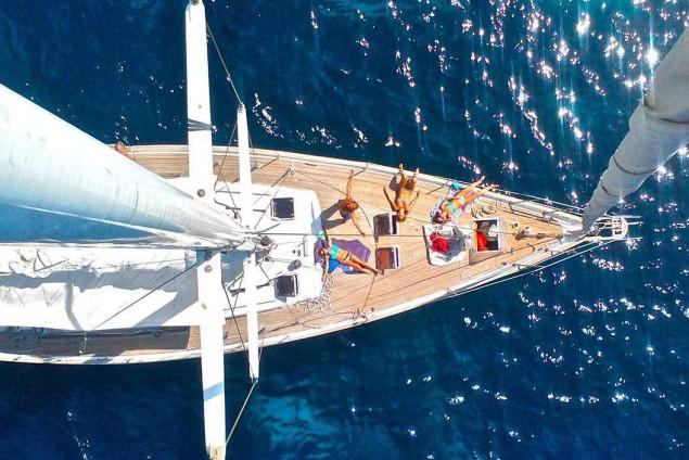 Excursió en veler de luxe
