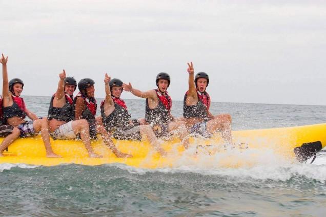 Banana boat Barcelona