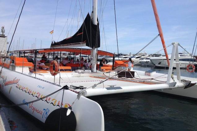 Barcelona catamaran Sail Excursion
